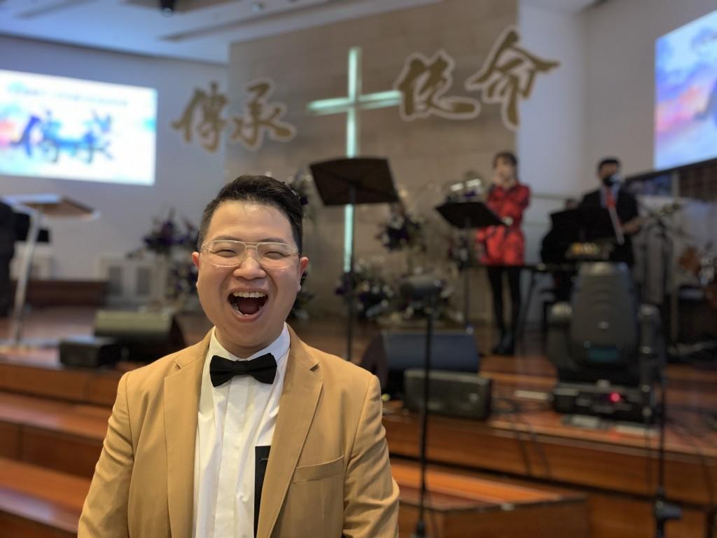 台北復興堂主任牧師柳子駿牧師(圖/曾雪瀅攝)