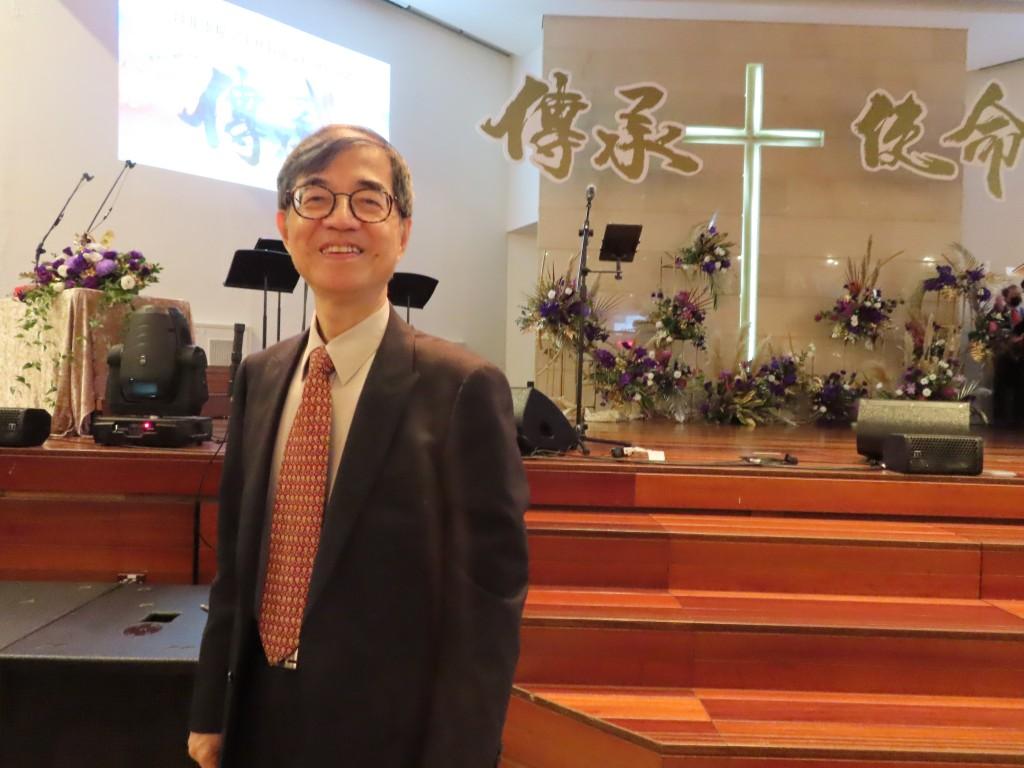 靈糧教牧宣教神學院暨國度領袖學院院長謝宏忠牧師(梁敬彥攝影)