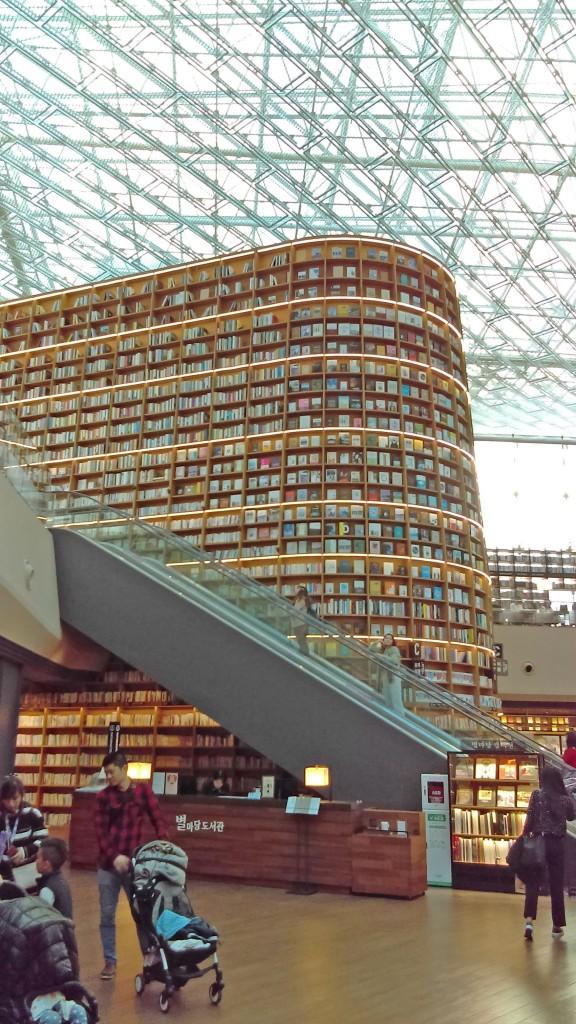 ↑Coex星空圖書館