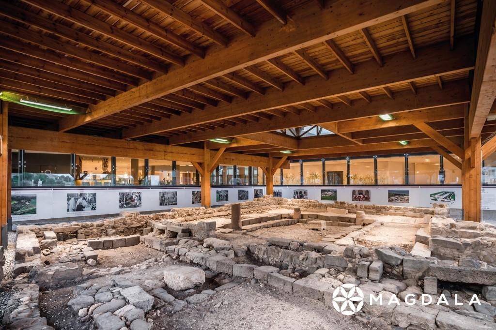 世界至今最早的猶太會堂,也是以色列已知的七個一世紀會堂之一。(圖/FB @experiencemagdala)