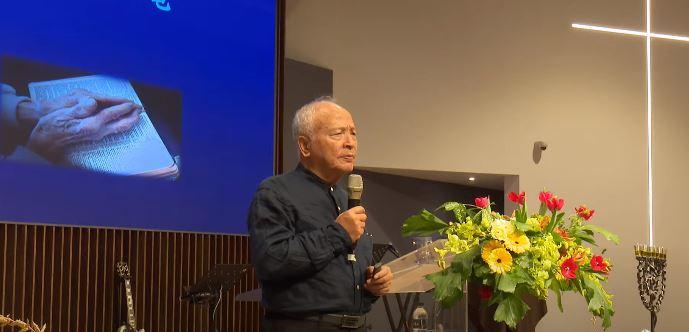 靈糧全球使徒性網路主席周神助牧師。