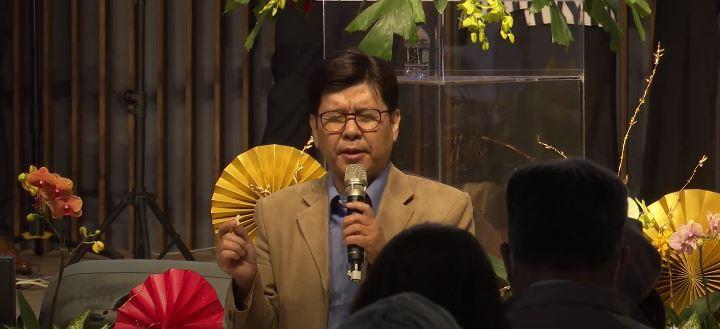 安平靈糧堂陳學明主任牧師。