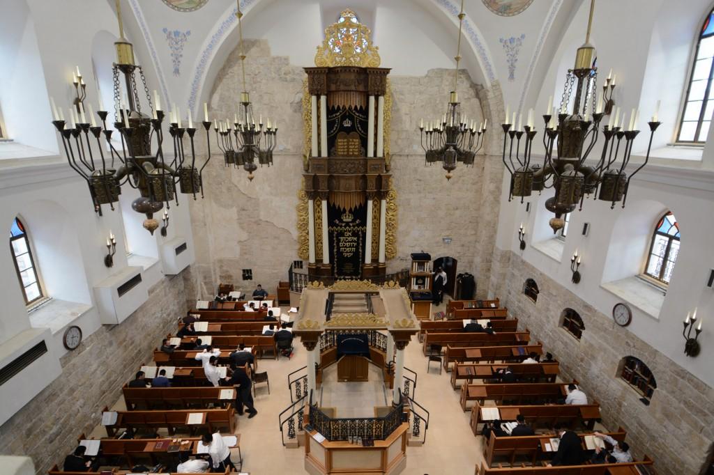 ↑耶路撒冷Hurva會堂。